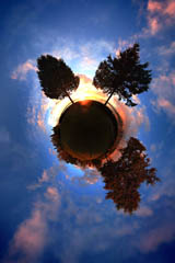 360 Planet Photo of Burrard Inlet, Vancouver, BC