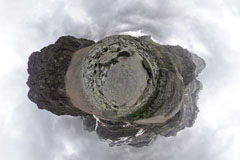 360 Planet Photo of Lake O'Hara, BC, Canada, Yukness Ledges