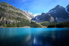 moraine lake alberta canada nd400 filter rockies